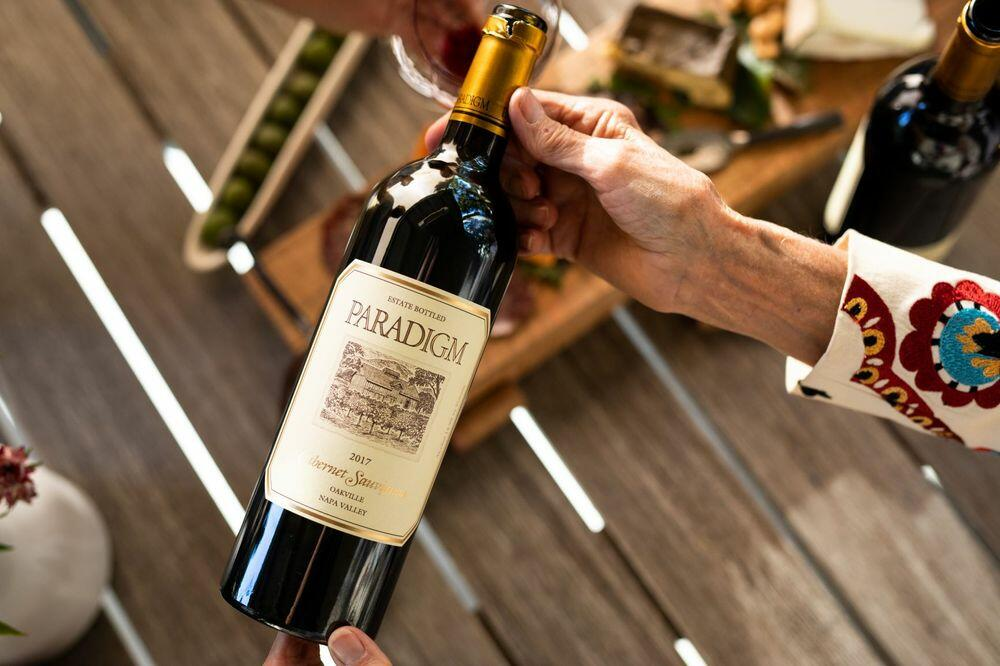 Paradigm Winery Cabernet Sauvignon Bottle Preview