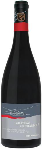 Château des Charmes Pinot Noir Paul Bosc Estate Vineyard