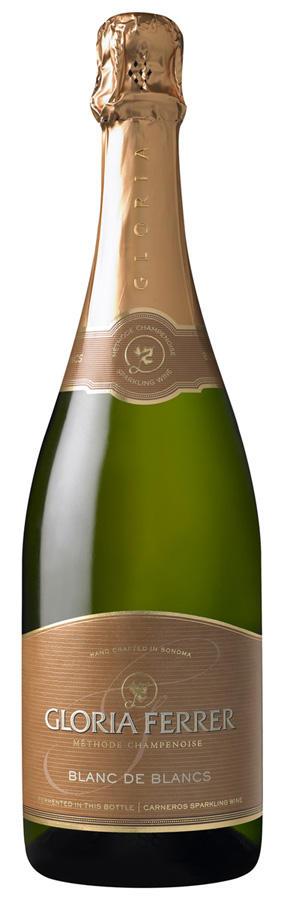 Gloria Ferrer Vintage Sparkling Wines Blanc de Blancs Bottle Preview