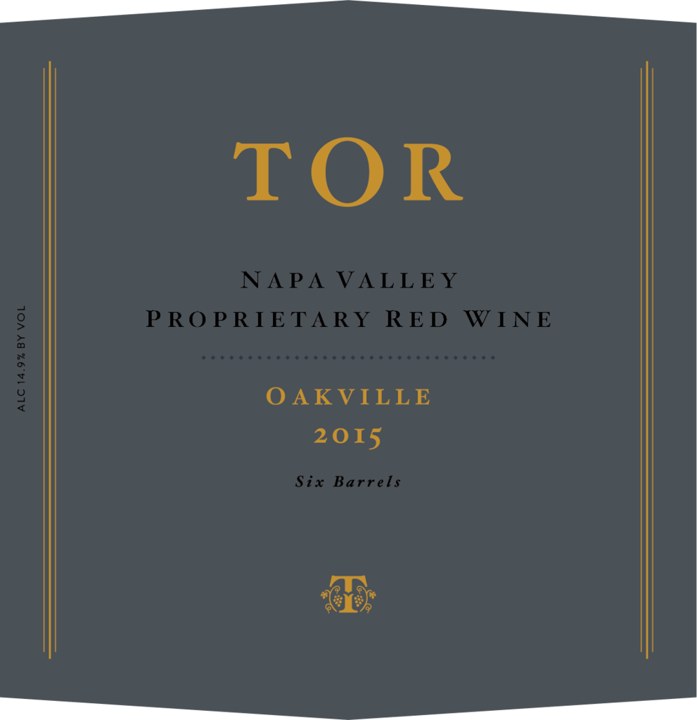 TOR Wines Oakville Proprietary Red Bottle Preview