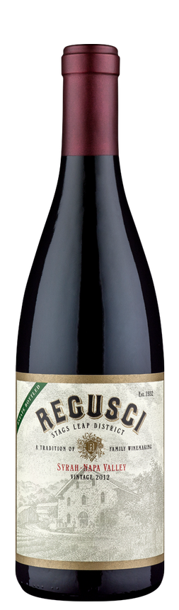 Regusci Winery Syrah Bottle Preview