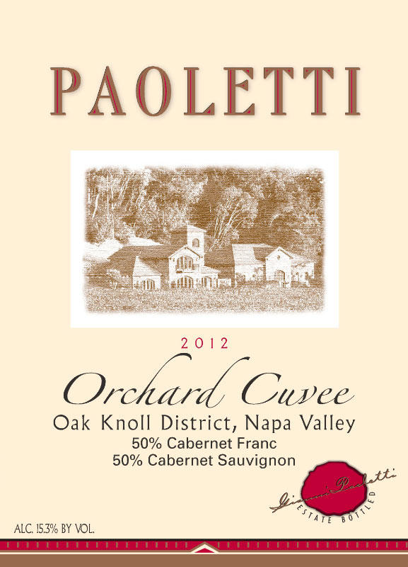 Paoletti Estates Winery Orchard Cuvee Bottle Preview