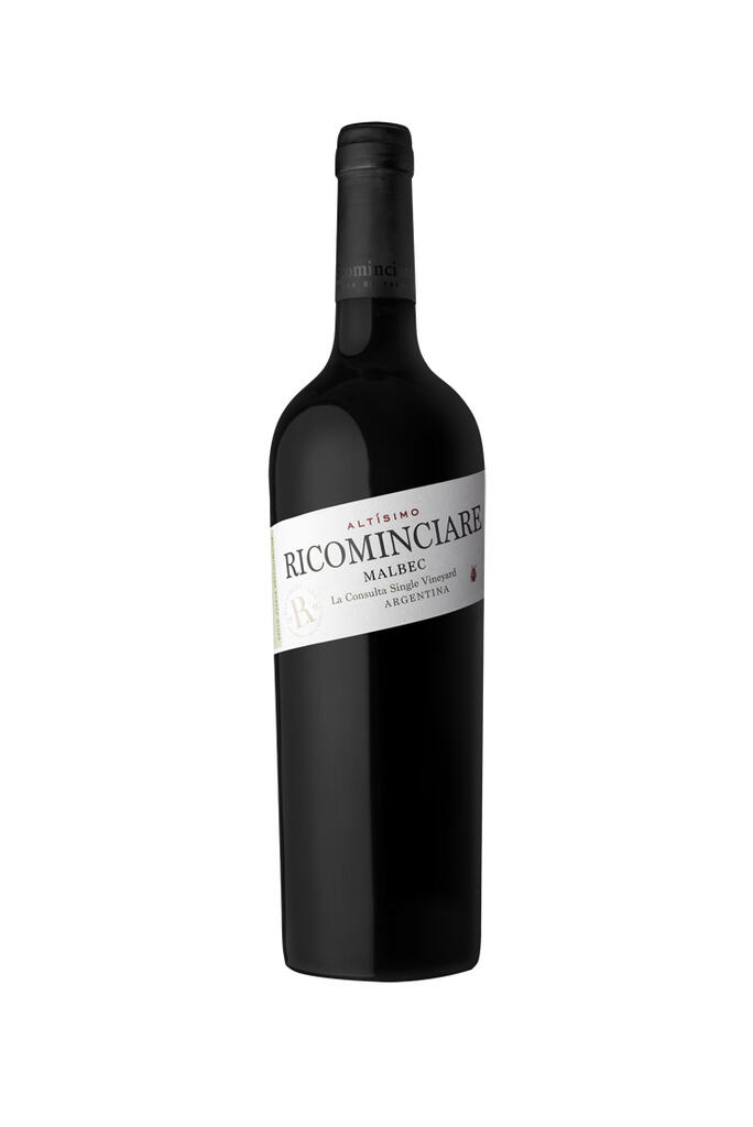 Ricominciare Family Winery Ricominciare Altísimo Malbec Bottle Preview