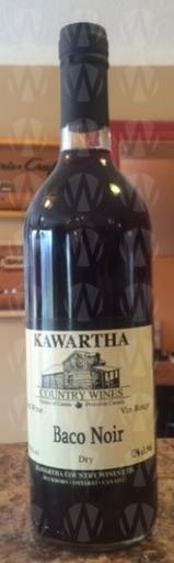 Kawartha Country Wines Baco Noir
