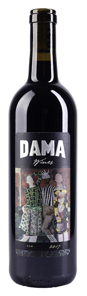 DAMA Wines GSM Bottle Preview