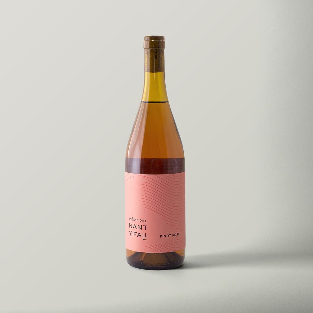 Viñas del Nant y Fall Pinot Rosé Bottle Preview