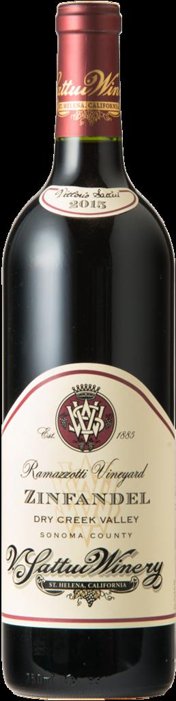 V. Sattui Winery Ramazzotti Vineyard Zinfandel Bottle Preview