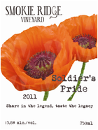 Smokie Ridge Vineyard Soldier's Pride White