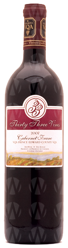 Thirty Three Vines Winery Cabernet Franc