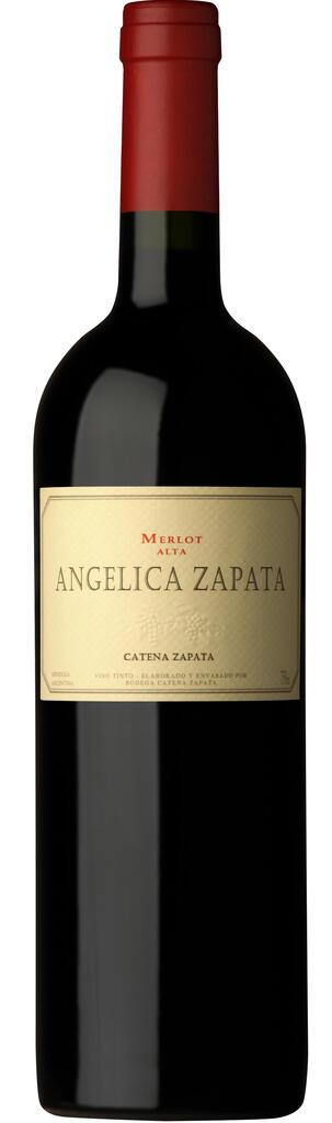 Angélica Zapata Merlot Alta Bottle