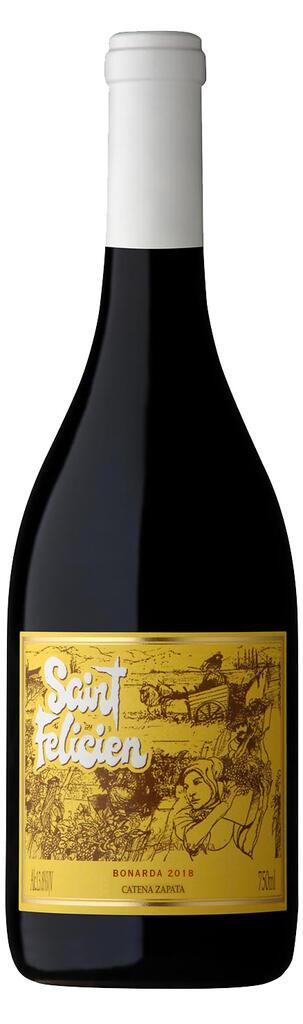 Saint Felicien Bonarda Bottle