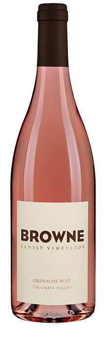 Browne Family Vineyards Grenache Rosé Bottle Preview