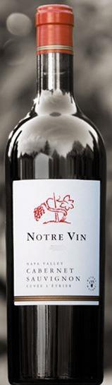 Notre Vin Napa Valley Cabernet Sauvignon     Cuvée L'Etrier Bottle Preview