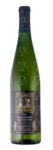 Hainle Vineyards Gewürztraminer