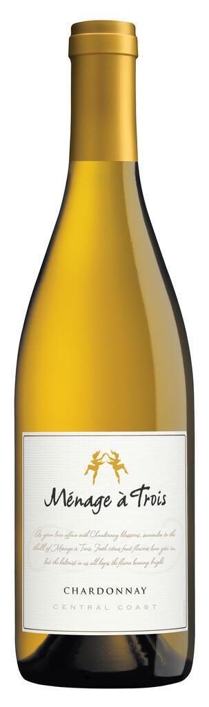 Ménage à Trois Wines Ménage à Trois Chardonnay Bottle Preview