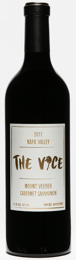 The Vice Napa Valley Wines The Vice, Cabernet Sauvignon, Mount Veeder, Napa Valley Bottle Preview