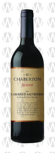 Chaberton Estate Winery Reserve Cabernet Sauvignon