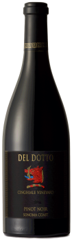 Del Dotto Vineyards PINOT NOIR FORT ROSS-SEAVIEW SONOMA COAST Bottle Preview