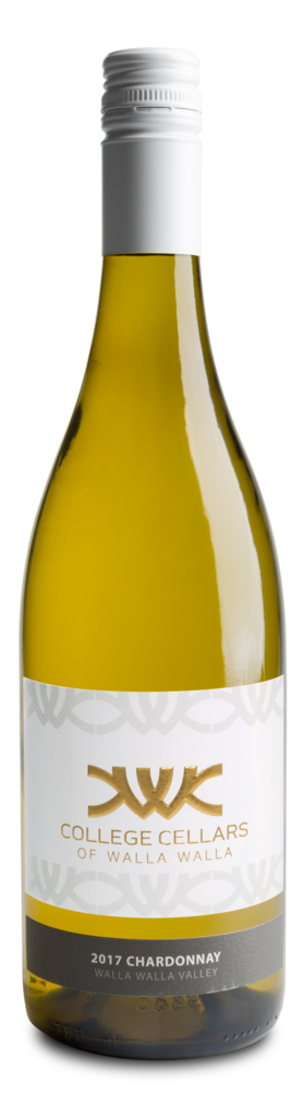 College Cellars of Walla Walla Chardonnay Bottle Preview