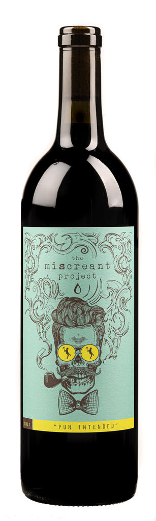TruthTeller Winery The Miscreant Project Pun Intended Bottle Preview