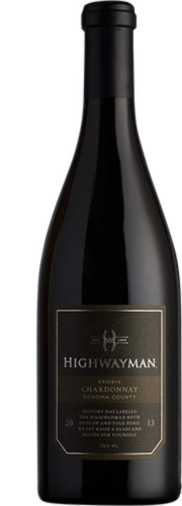 Highway 12 Vineyards and Winery Highwayman Reserve Chardonnay Bottle Preview