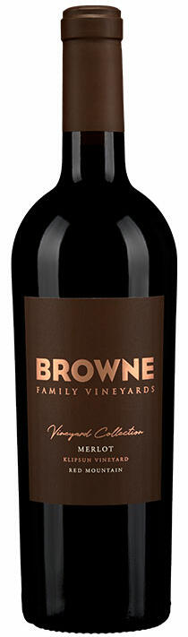 Browne Family Vineyards Klipsun Merlot Bottle Preview