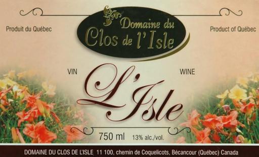 Domaine Clos de l'Isle L'Isle