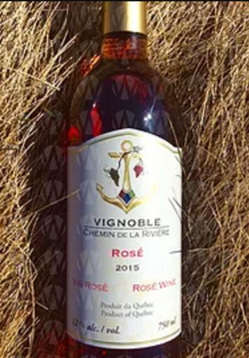 Vignoble Chemin de la Rivière Rosé