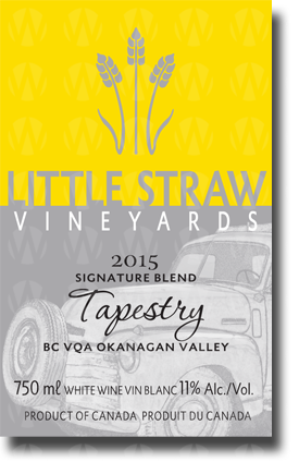 Little Straw Vineyards Tapestry
