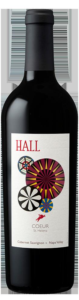 "HALL Napa Valley ""COEUR"" CABERNET SAUVIGNON Bottle Preview"