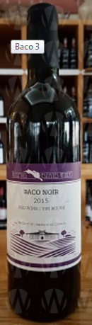 Waupoos Estates Winery Baco Noir