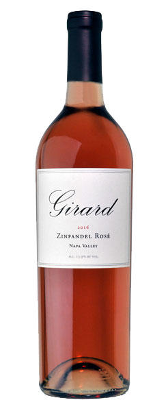 Girard Winery Zinfandel Rosé Napa Valley Bottle Preview