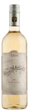 Vieni Wine and Spirits Pinot Grigio