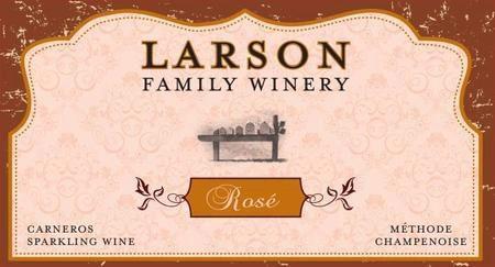 Larson Family Winery Larson Family Winery Sparkling Rosé Bottle Preview