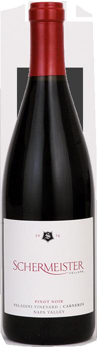 Schermeister Cellars Paladini Vineyard Pinot Noir Bottle Preview