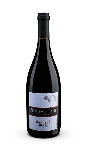 Bergevin Lane Vineyards She-Devil Syrah Bottle Preview