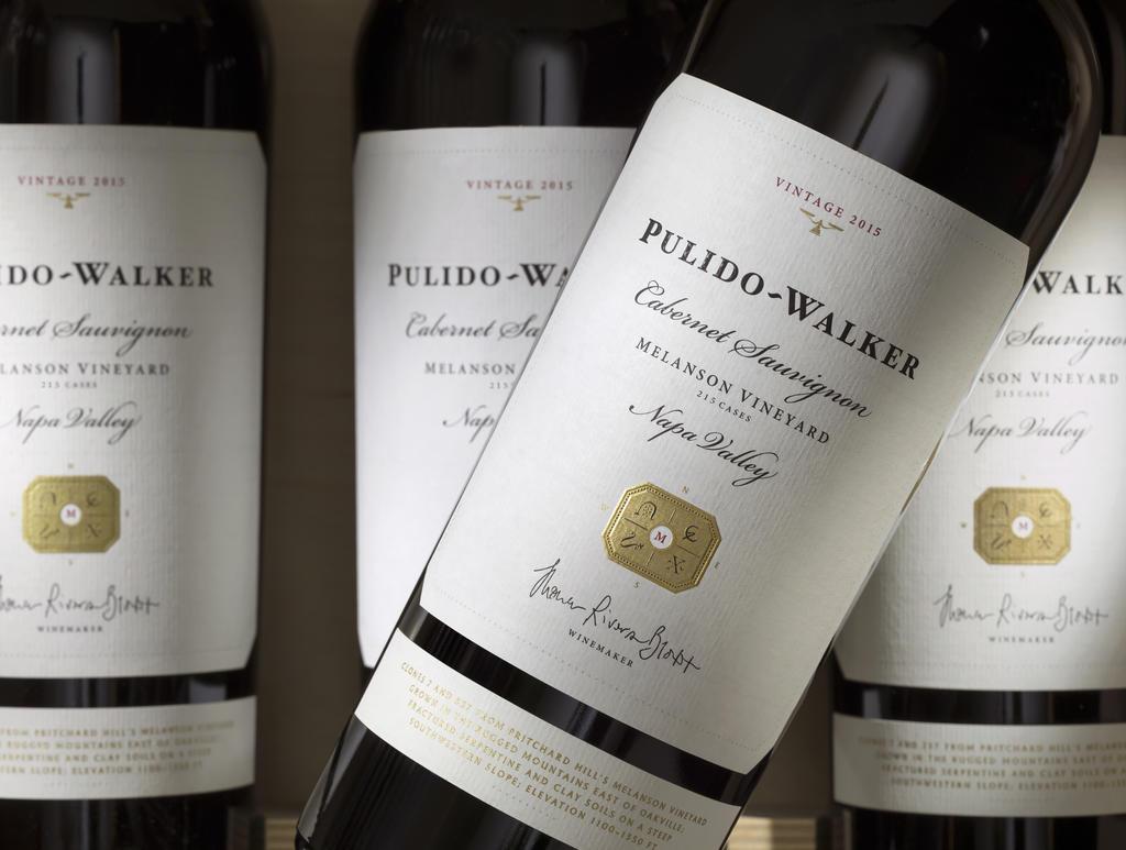 Pulido~Walker Melanson Vineyard Cabernet Sauvignon Bottle Preview