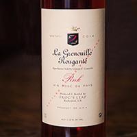 "Frog's Leap Winery La Grenouille Rougante ""Pink"" Bottle Preview"