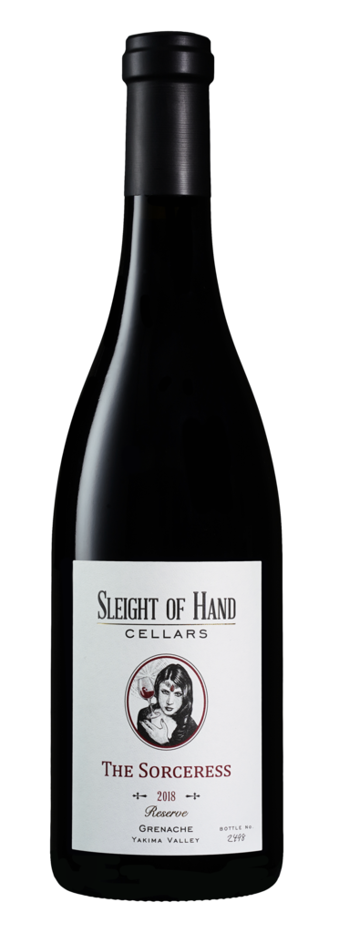 Sleight of Hand Cellars The Sorceress Bottle Preview