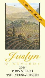 Juslyn Vineyards Perry's Blend Bottle Preview