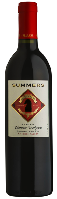 Summers Estate Wines Knights Valley Cabernet Sauvignon Bottle Preview