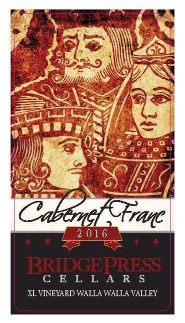Bridge Press Cellars Cabernet Franc Bottle Preview