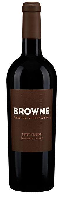 Browne Family Vineyards Petit Verdot Bottle Preview