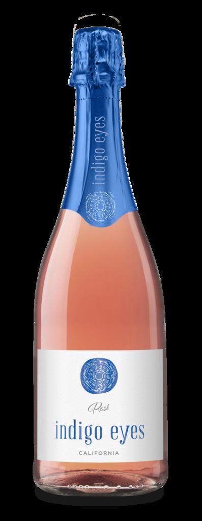 Indigo Eyes Wines Indigo Eyes California NV Sparkling Rosé Bottle Preview