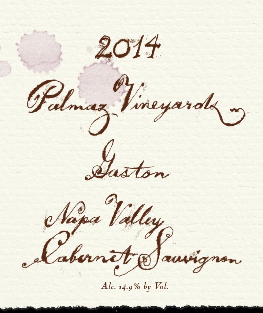 Palmaz Vineyards Gaston Cabernet Sauvignon Bottle Preview