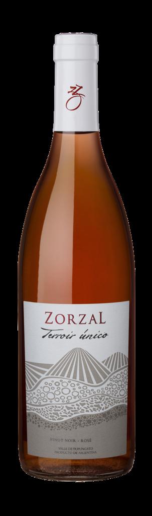 Zorzal Wines Terroir Único Pinot Noir Rose Bottle Preview