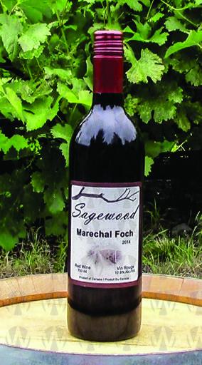 Sagewood Winery Marechal Foch