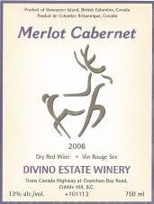 Divino Estate Winery Merlot Cabernet