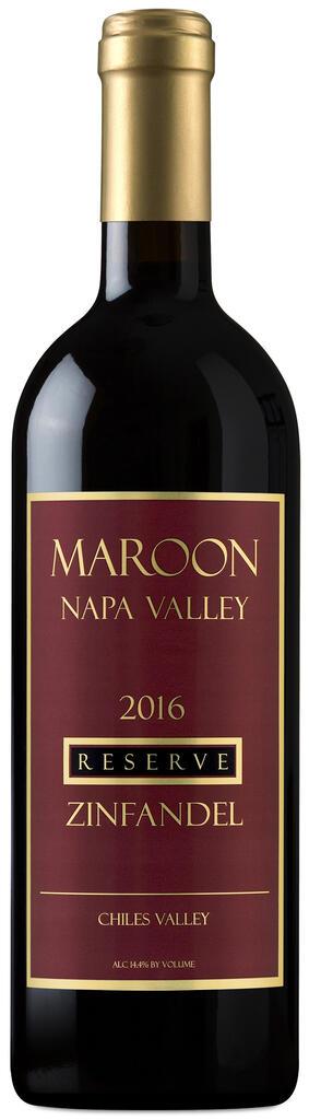 Maroon Wines Reserve Zinfandel Bottle Preview