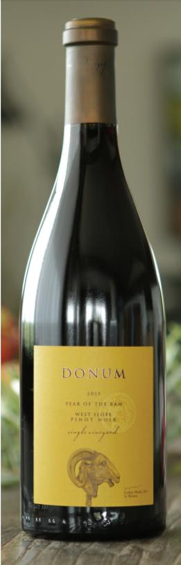 Donum Estate Carneros West Slope Pinot Noir Bottle Preview